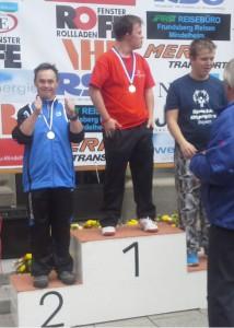 Werner Kopper jun. (l.) wird Zweiter in Mindelheim
